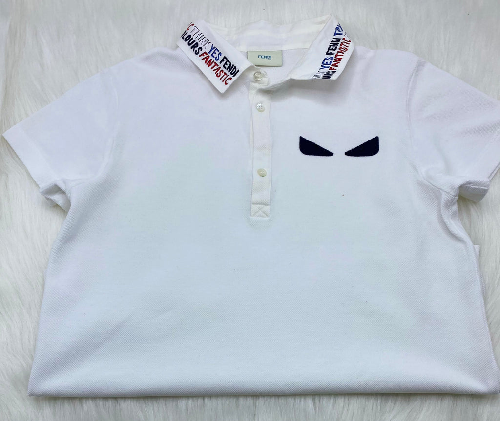 Fendi polo shirt size 10y