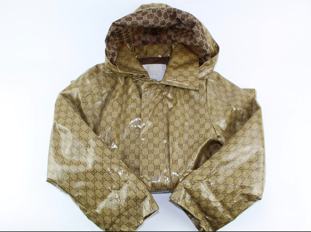 Gucci kids GG print raincoat size 5y