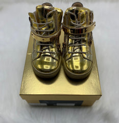Giuseppe kids high top shoes size 8.5c