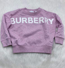 Burberry girls sweater size 4y