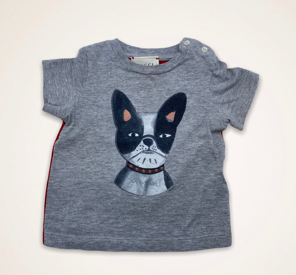 Gucci tee size 6/9 months