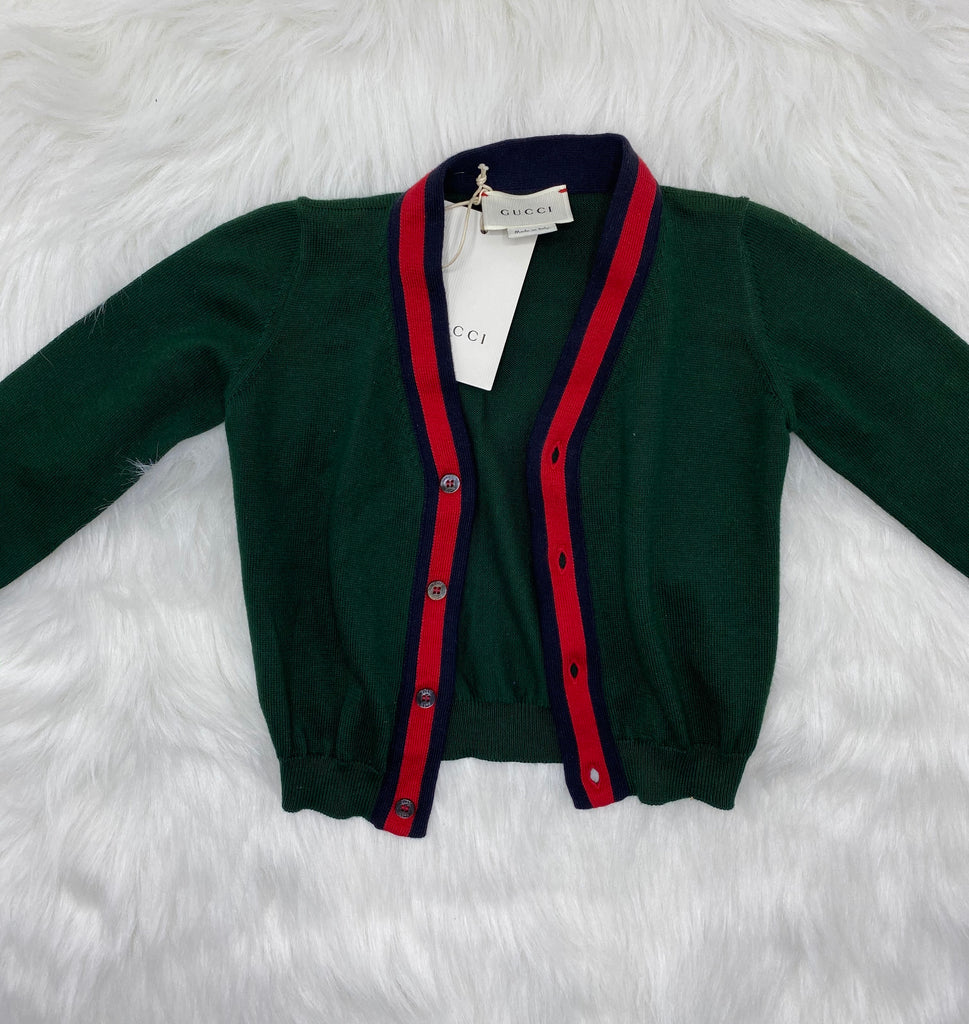 Gucci baby boys cardigan size 9/12 months