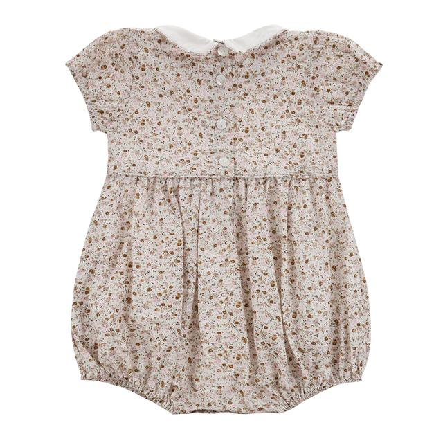 Esme Romper - Cinder Floral - Little Cotton Clothes