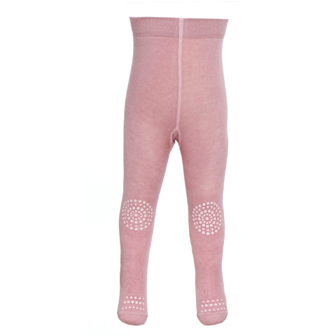 GOBABYGO Crawling Tights Dusty Rose