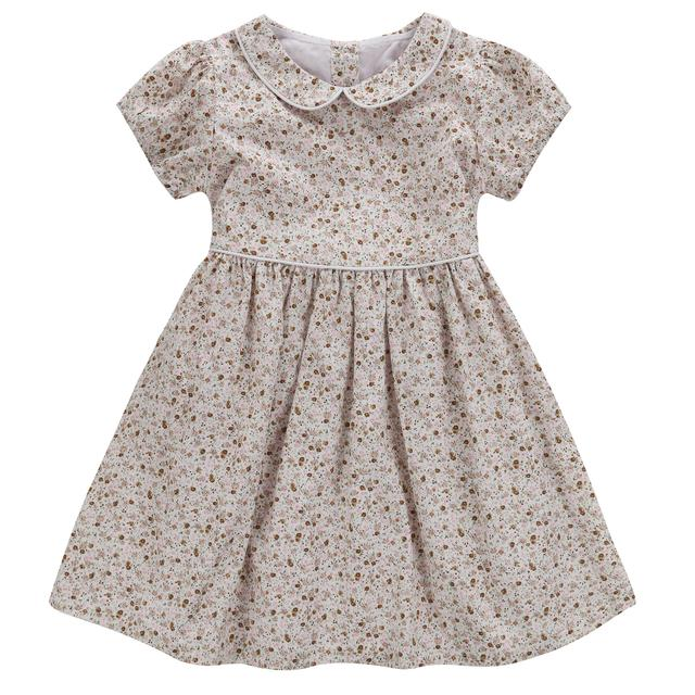 Martha Dress - Cinder Floral - Little Cotton Clothes