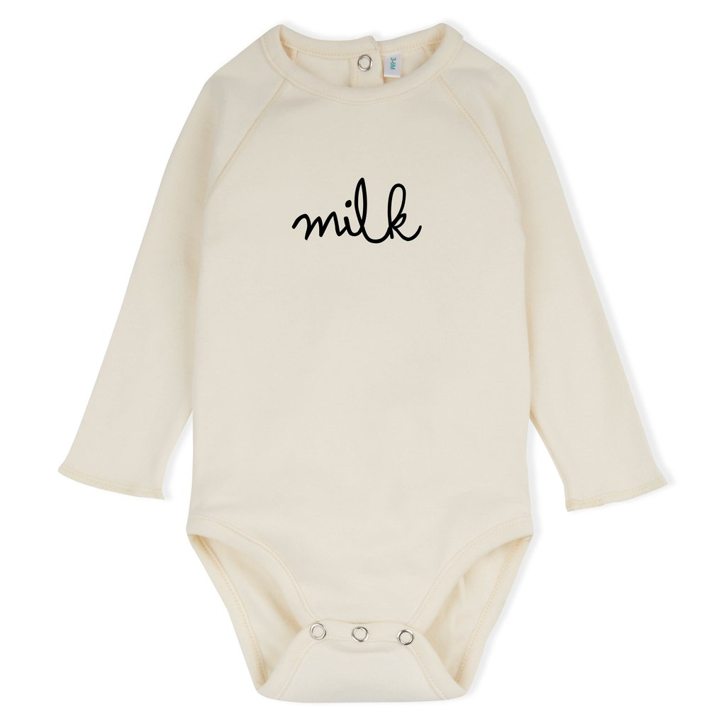 Natural MILK Bodysuit