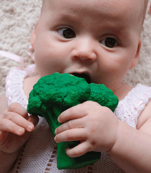 Oli & Carol  Brucy The Broccoli Teething  Toy