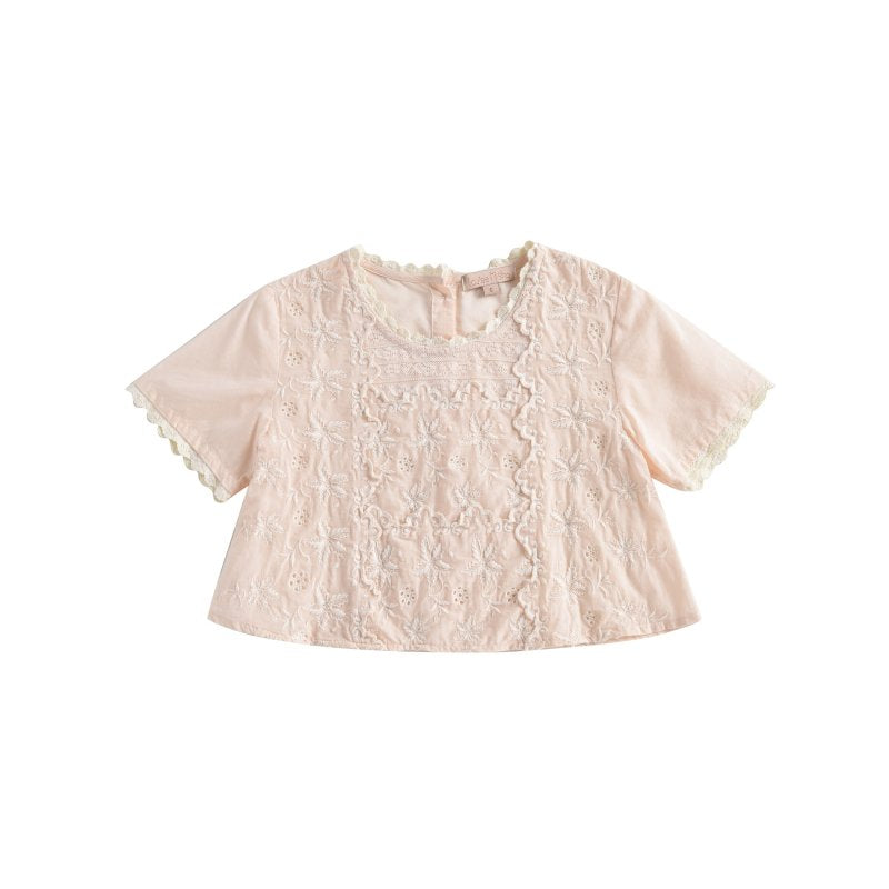 Blouse Veracruz Light Blush - Louise Misha