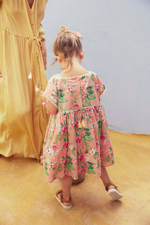 Dress Tapalpa Sienna Flamingo - Louise Misha