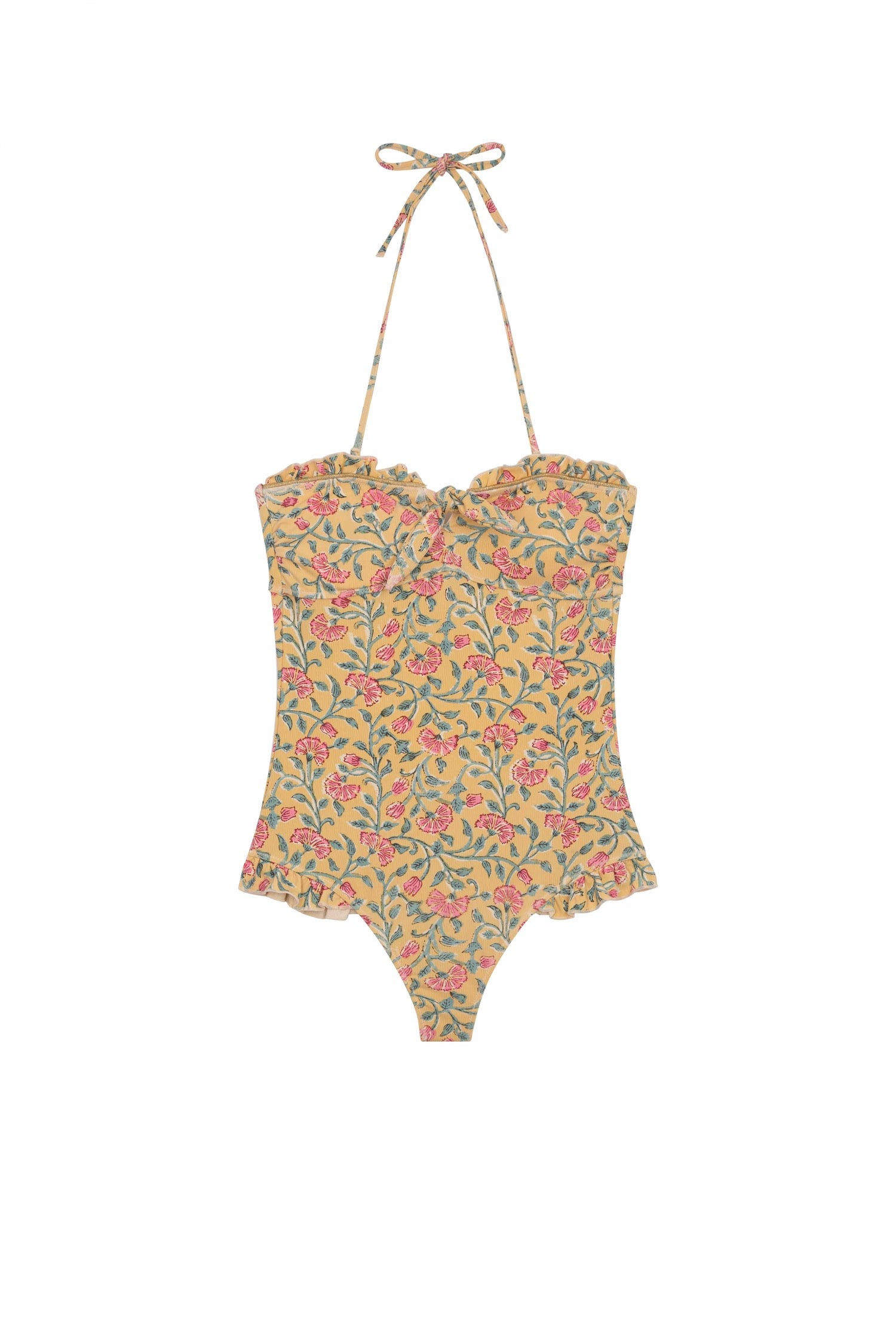Bathing Suit Bayo Lemon Flowers - Louise Misha