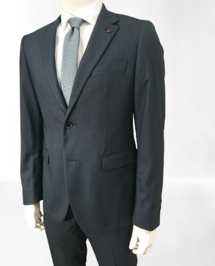 2 BUTTONS SUIT COMFORT FIT D.GREY