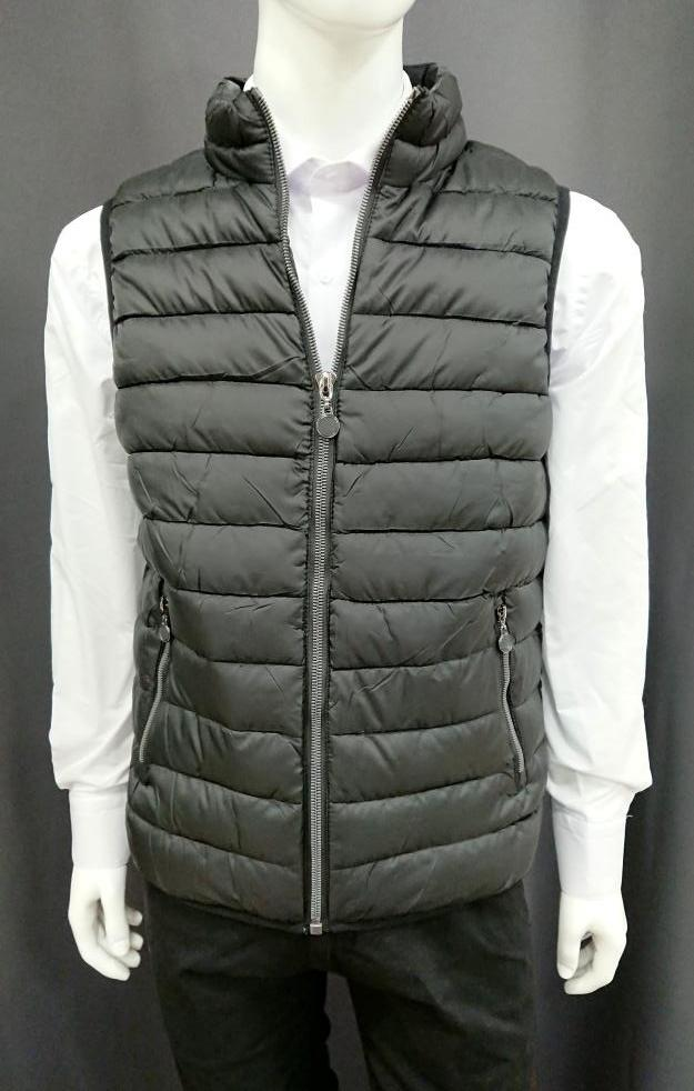 SILVANO VERRI EXTRA LIGHT BLACK GILET