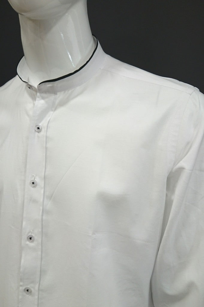 GOLF CLUB SHIRT MAO COLLAR