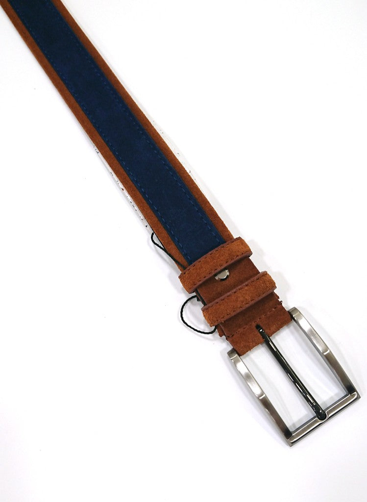 CAVALLIER SUEDE LEATHER BELT