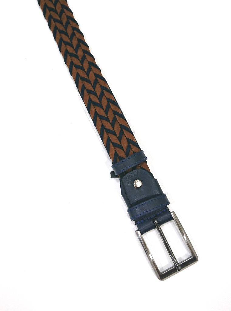 CAVALLIER  BELT BRAIDED SUEDE