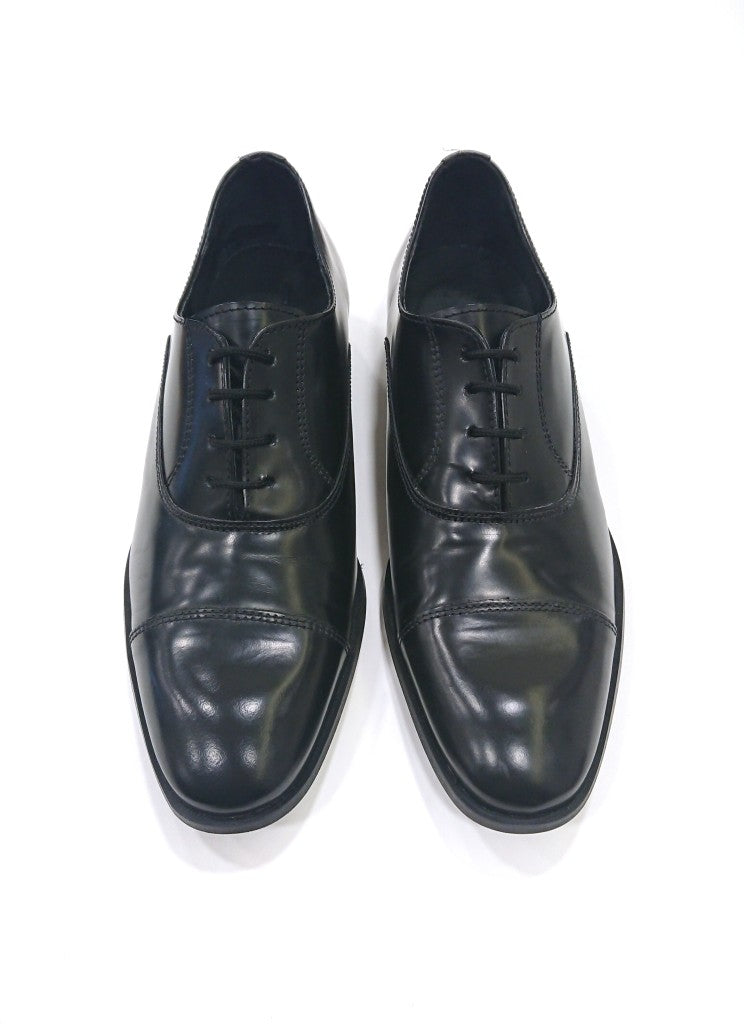 SCUDIERI FORMAL BLACK SHOES