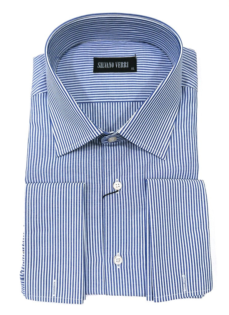 SILVANO VERRI SHIRT STRIPES CUFFS