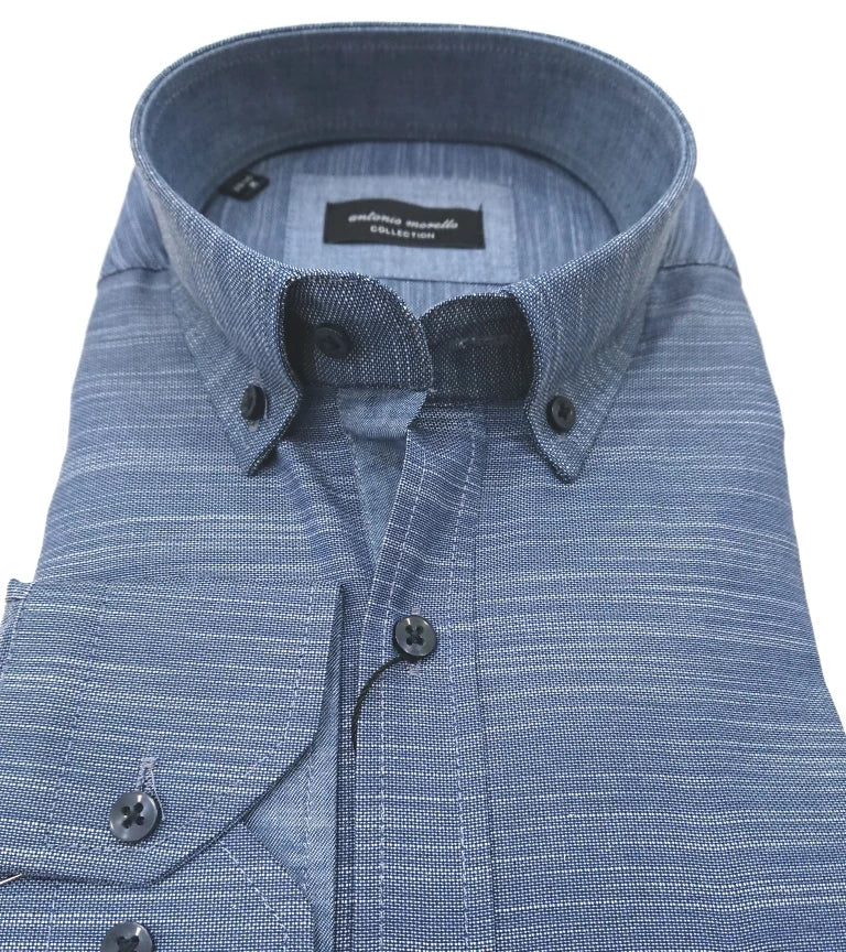ANTONIO MORELLO CLASSIC SHIRT WITH SCETCH