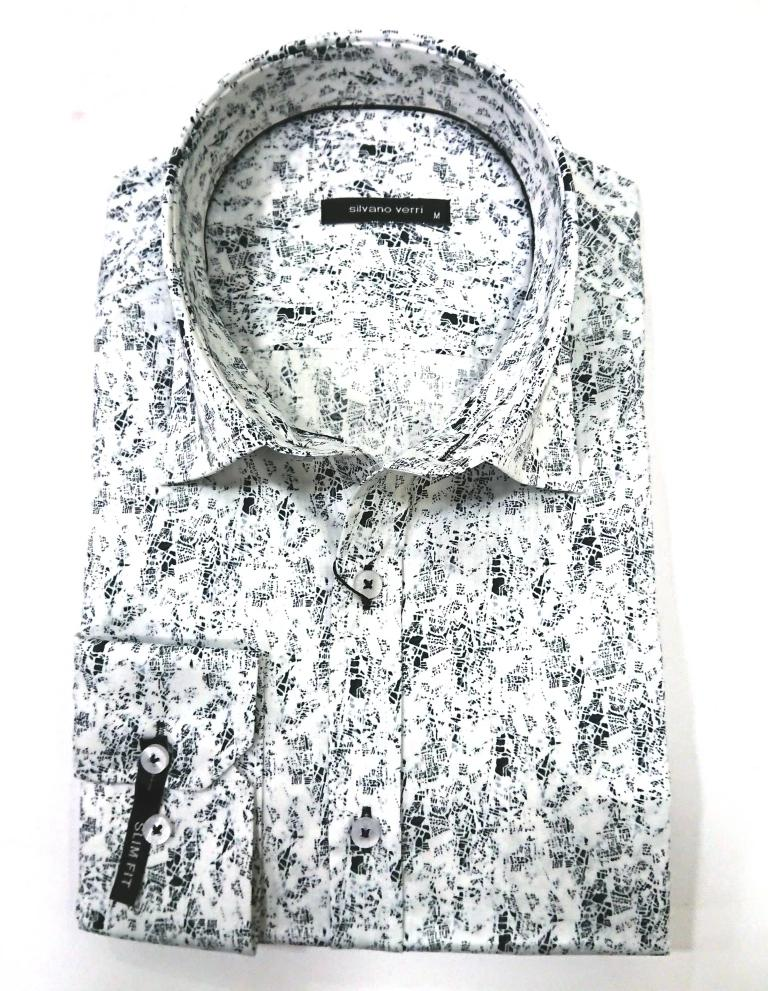 SILVANO VERRI SHIRT WITH SCETCH