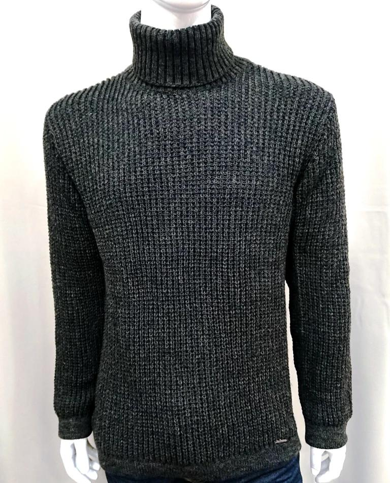 BELLISSIMO TURTLE NECK KNIT SWEATER