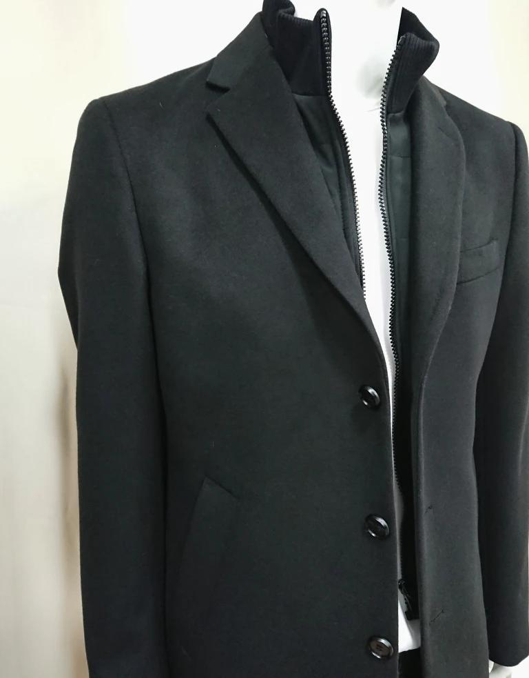 MASTER TAILOR WOOL COAT WITH REMOVABLE LINING