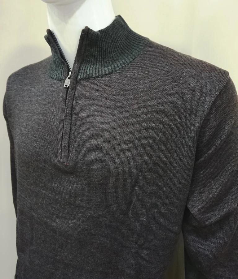 OXYGEN KNIT SWEATER WITH ZIP