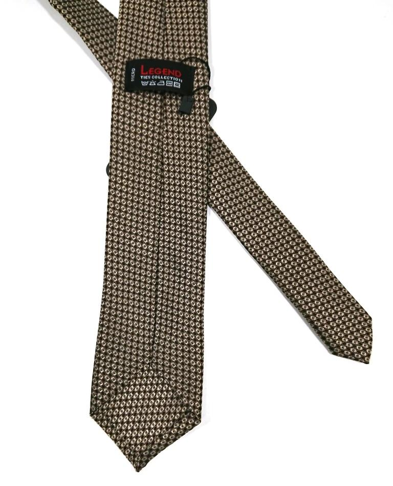 TEXTURED FALSE PLAIN 100% SILK TIE