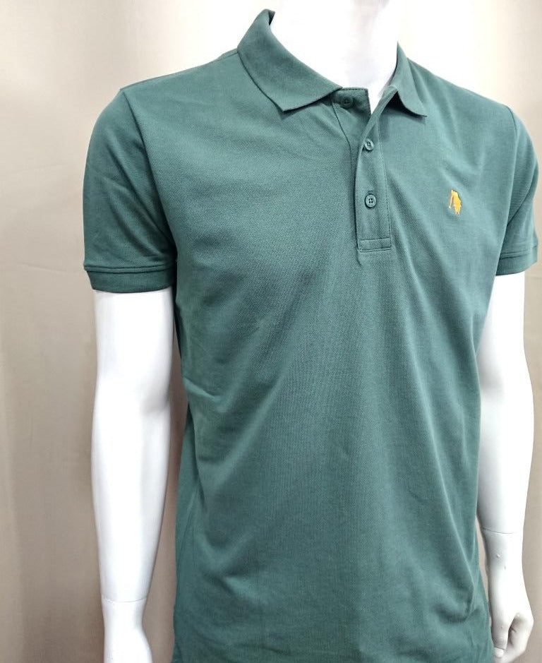 POLO CLUB SHORT SLEEVE COTTON POLO SHIRT