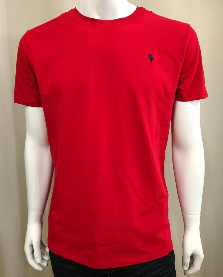 POLO CLUB CREW NECK COTTON T-SHIRT