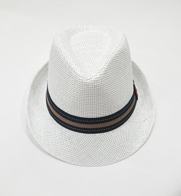 POLO CLUB PANAMA HAT WITH LOGO