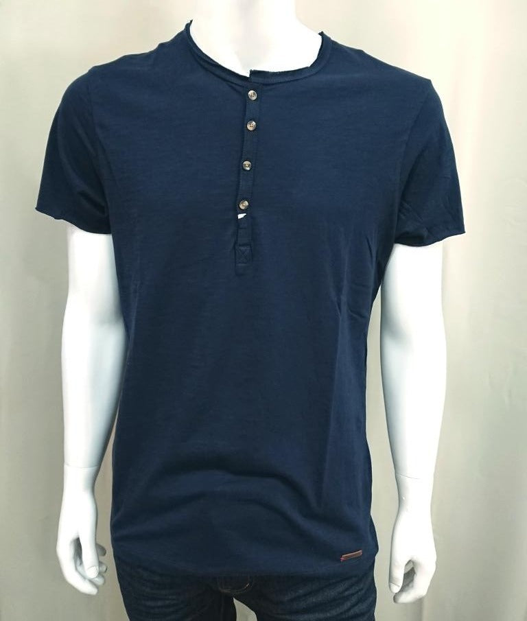SUPERIOR VINTAGE T-SHIRT WITH BUTTONS