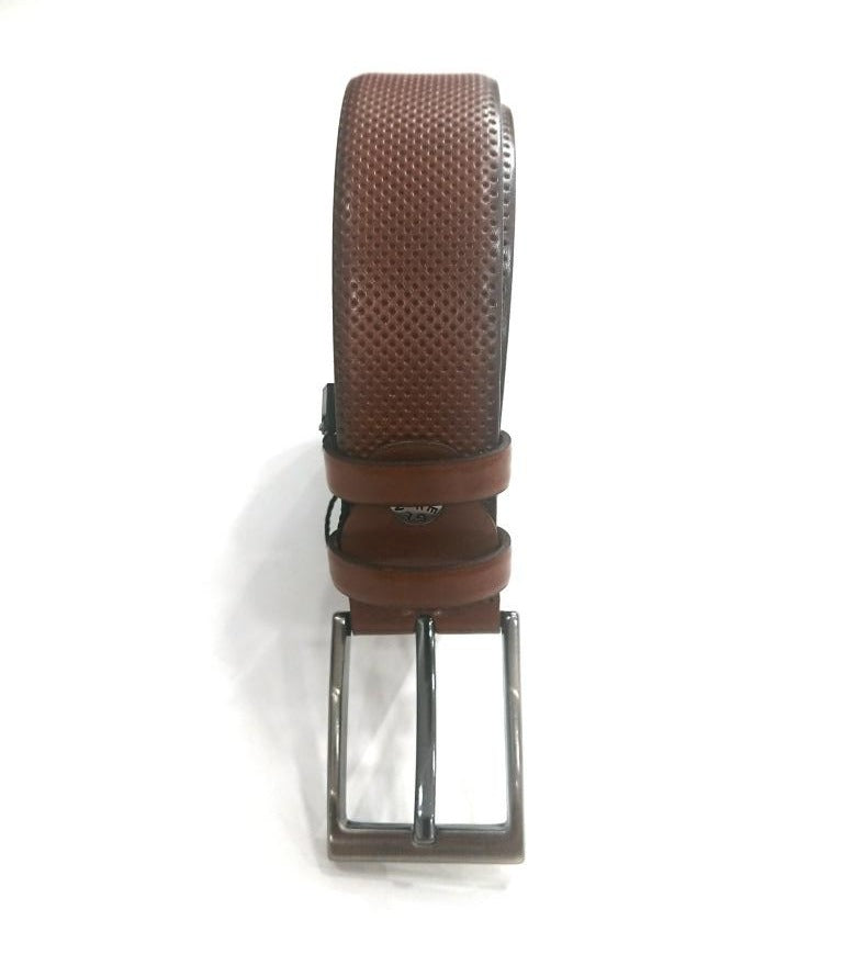 LEATHER BELT FORMAL WITH DOTS
