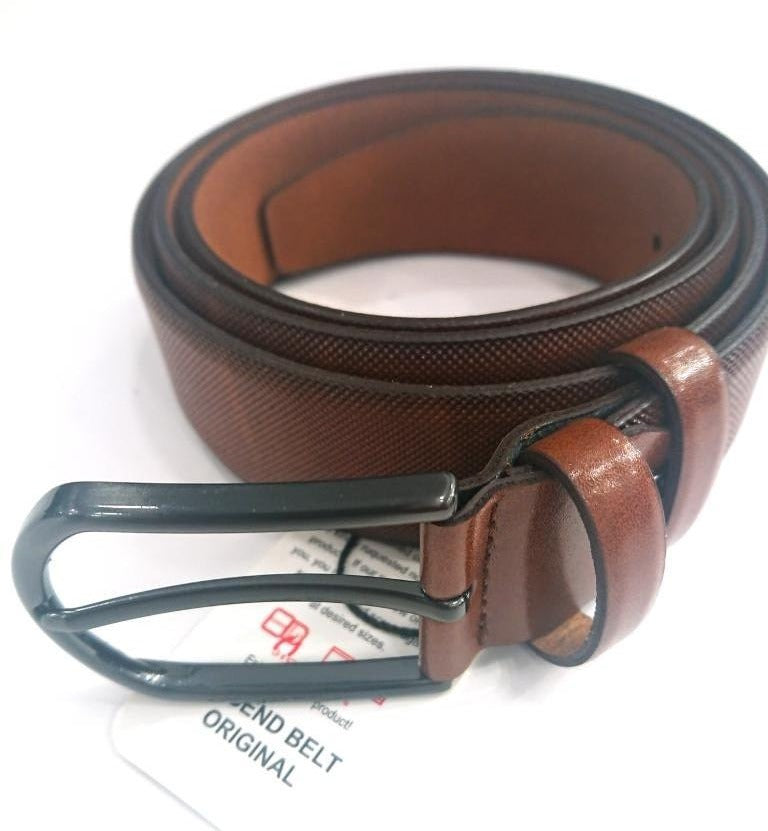 BRAIDED LEATHER BELT FORMAL STYLE
