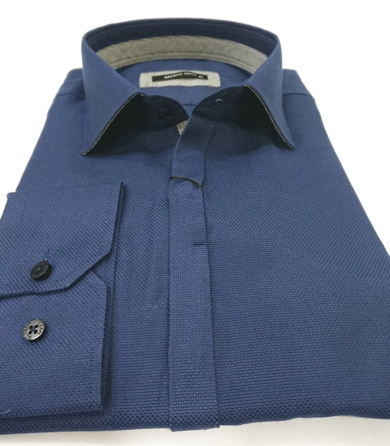 SILVANO VERRI SHIRT SLIM FIT SCETCH