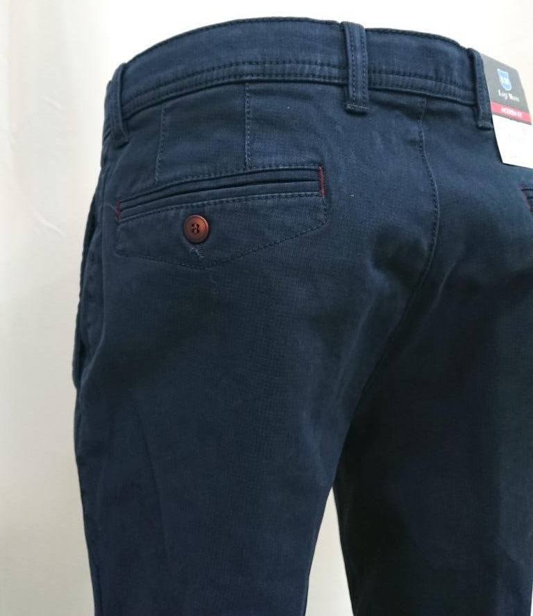 LUIGI MORINI CHINOS COTTON REGULAR FIT