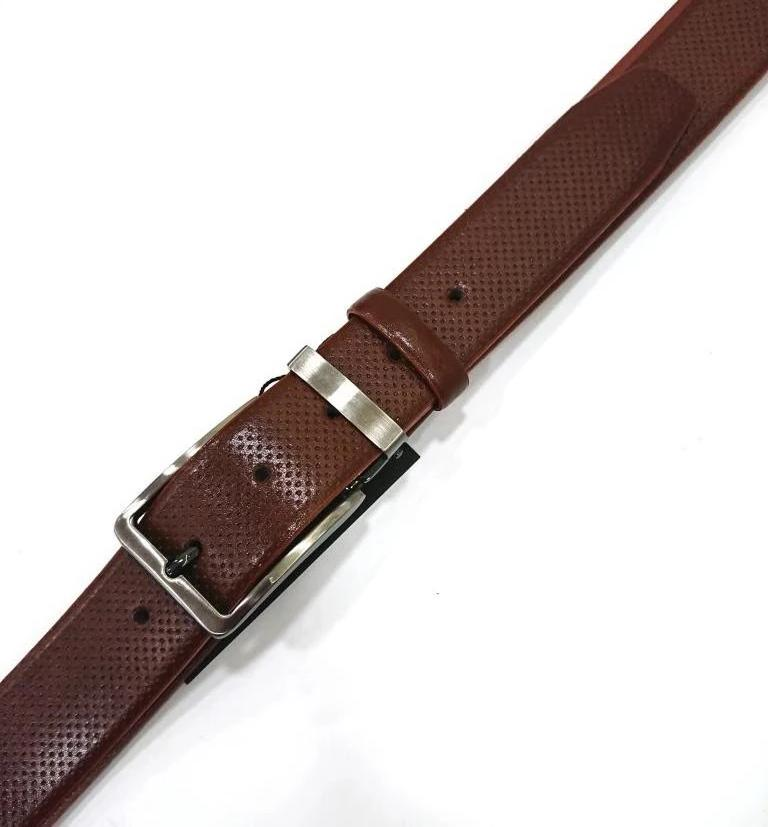 CAVALLIER LEATHER BELT CAMEL