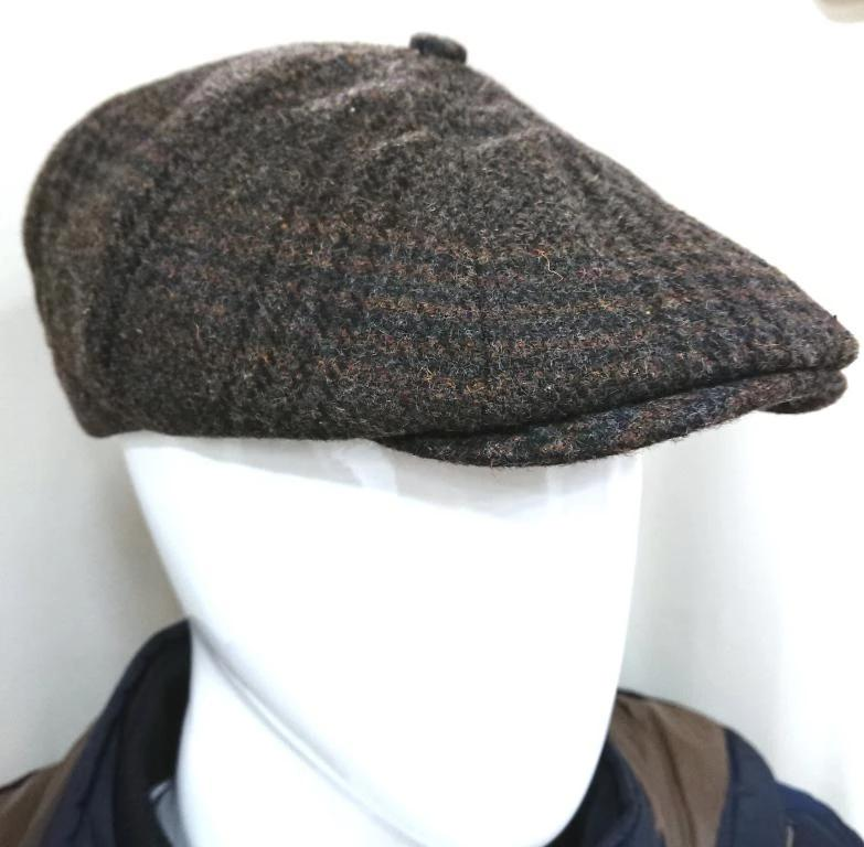 TEXTURED WOOL CAP