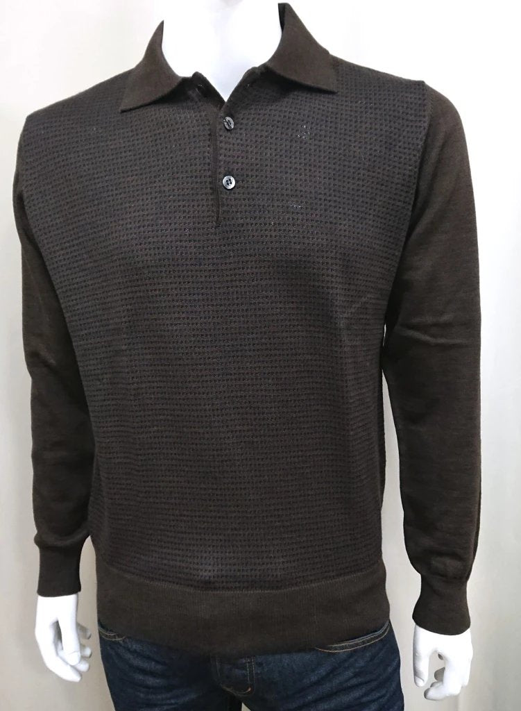 SIR RAPHAEL POLO SWEATER WOOL