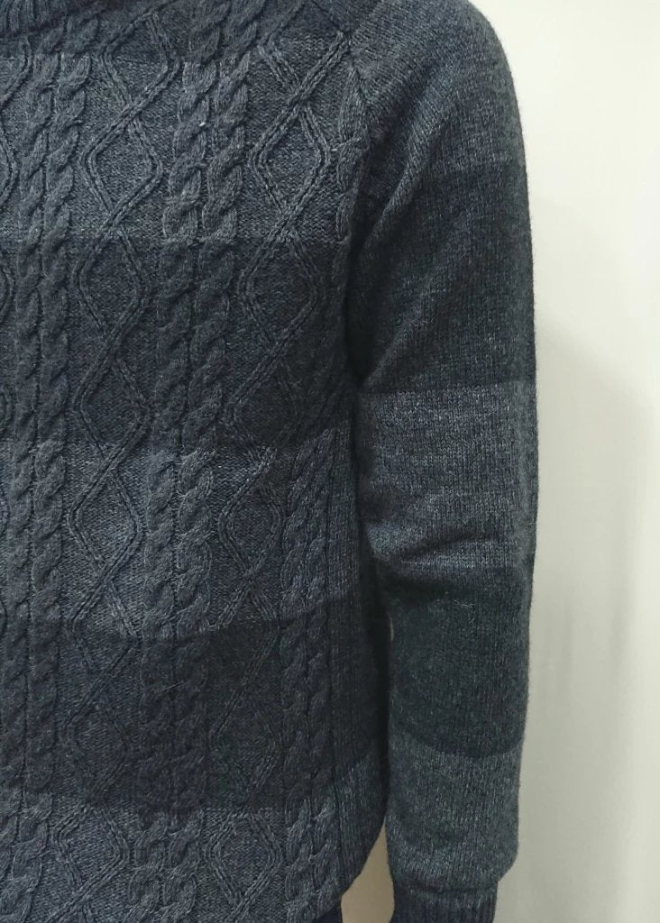 MACHETE WOOL CABLE KNIT SWEATER