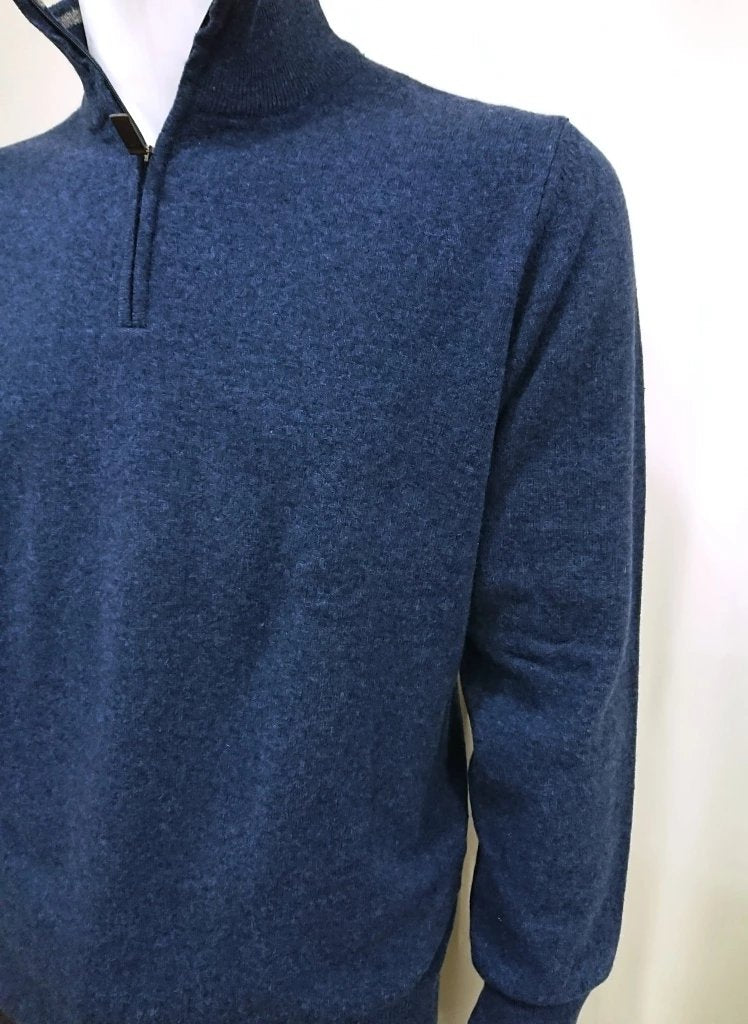 SIR RAPHAEL WOOL SWEATER WITH ZIP