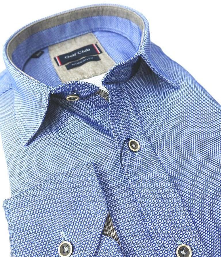 100% COTTON OXFORD SHIRT REGULAR FIT