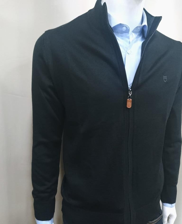 CARDIGAN MERINO WOOL SLIM FIT
