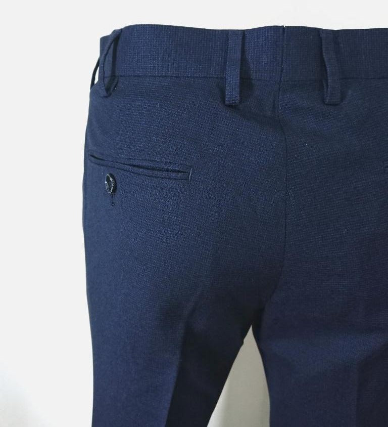 WASHABLE CITY SLIM FIT TROUSERS