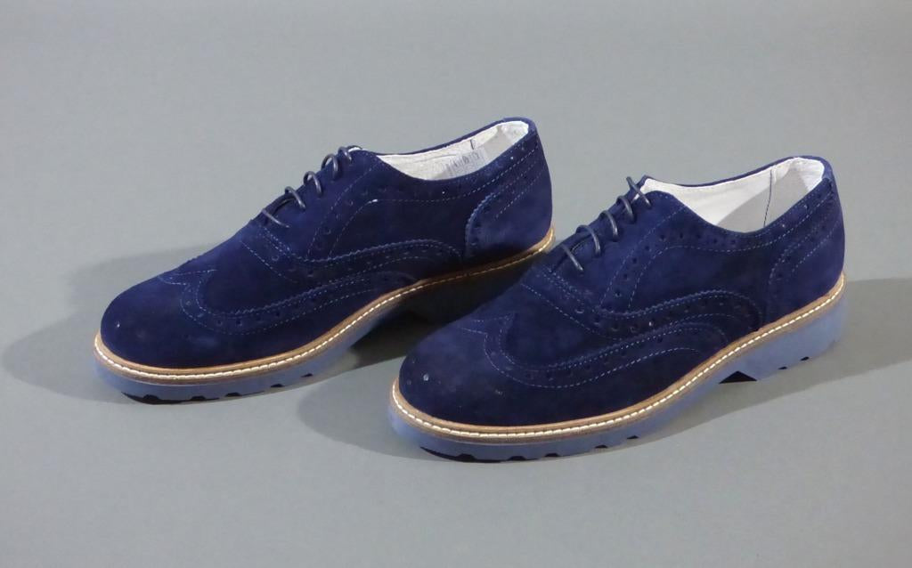suede brogues shoes