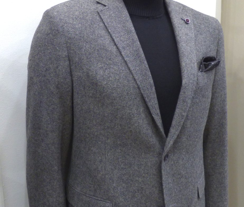 MASTER TAILOR WOOL BLAZER WITH SCETCH