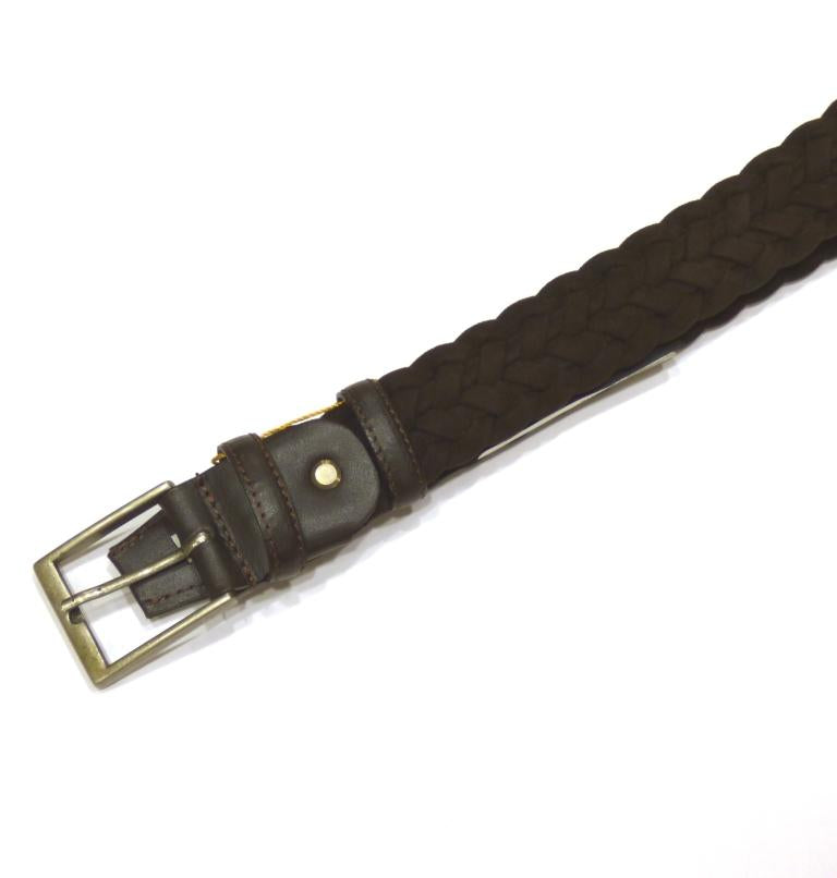 CAVALLIER BRAIDED BELT LEATHER