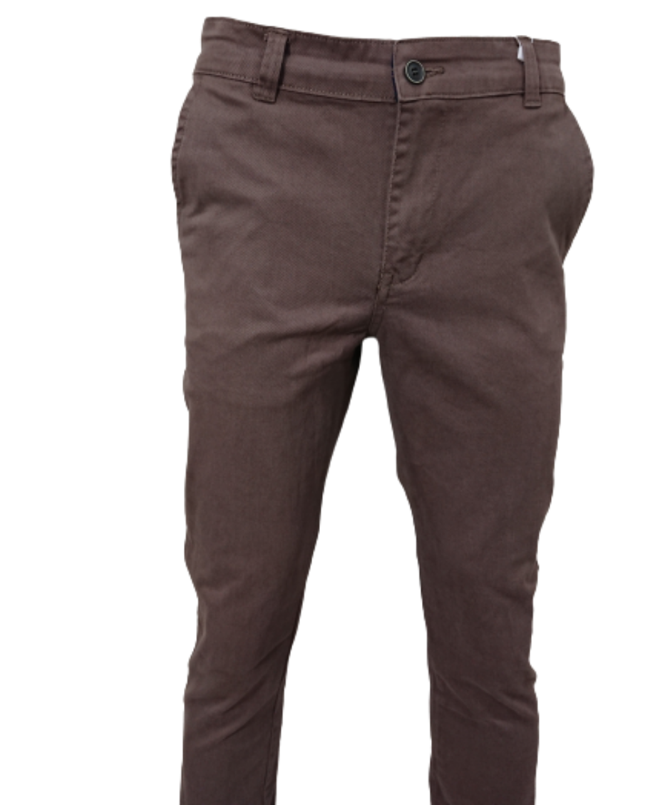 UNIQUE SLIM FIT CHINO TROUSERS