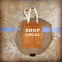 Load image into Gallery viewer, SHOP LOCAL BUNDLE - Waxed Canvas Large Tote