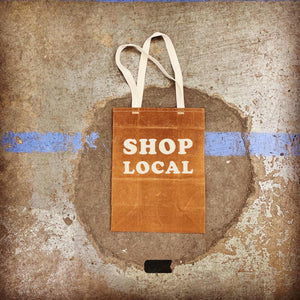 SHOP LOCAL BUNDLE - Waxed Canvas Large Tote