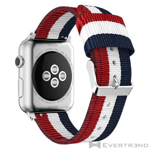 Bracelet Flag Sport France-Apple Watch-Evertrend